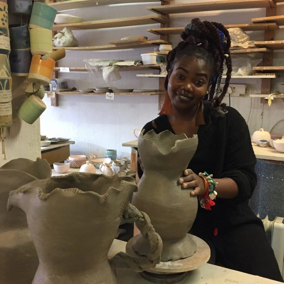 Imabli Crafts training_ceramics fundi jugs