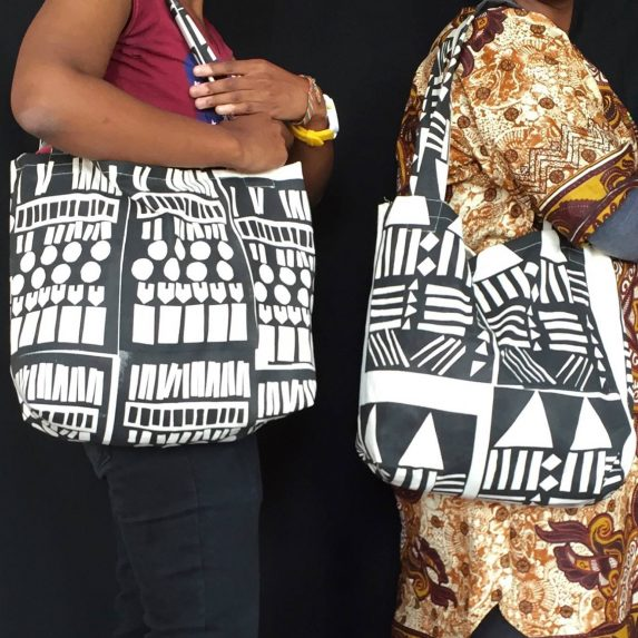 Imbali Shop Black and white bags